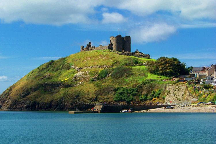 5CricciethCastle